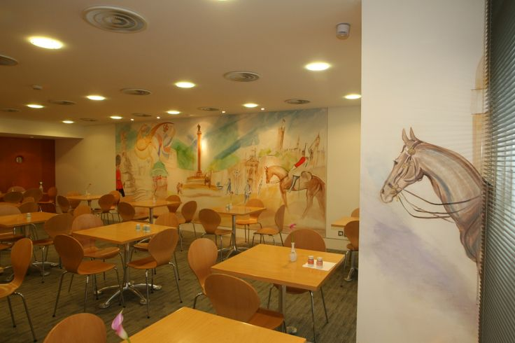 Canteen, AngloAmerican HQ, London