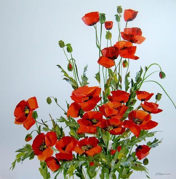 Lyudmila Scripcenco - Maci roșii