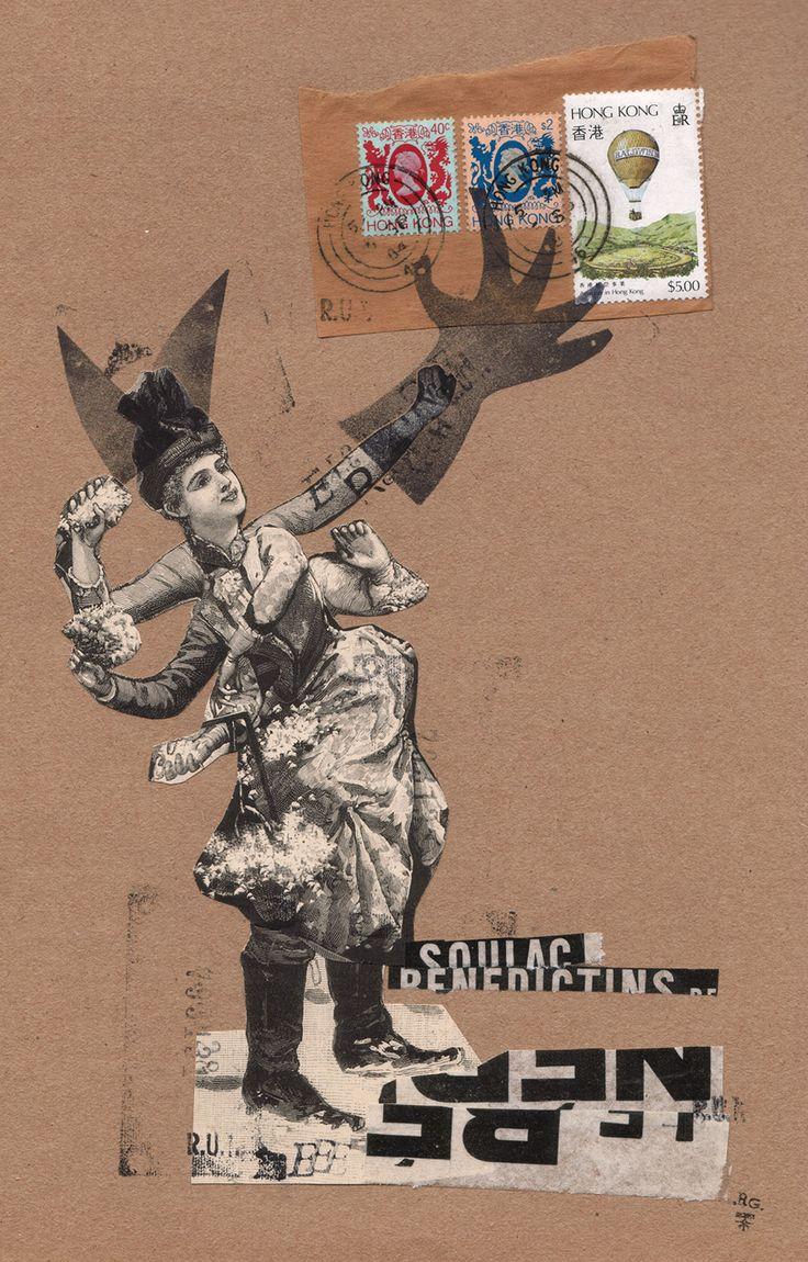 """Rodrigo Gárate Chateau, """"SEÑORA DE LAS BOTAS PUESTAS"""" (2016). La señora de las botas puestas lanza proyectiles en defensa de sus cuernos."""