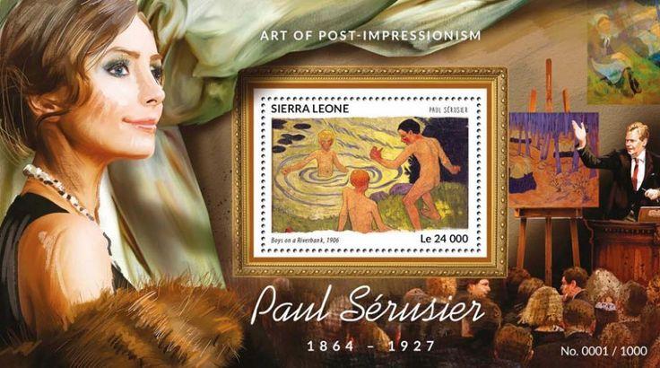 SRL15420b Paul Sérusier (Boys on a Riverbank, 1906)