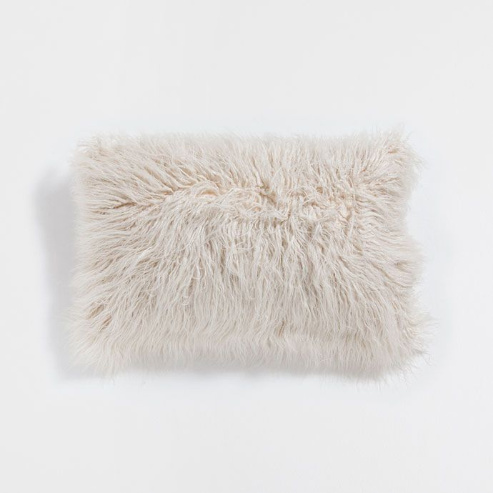 FUR-EFFECT CUSHION COVER