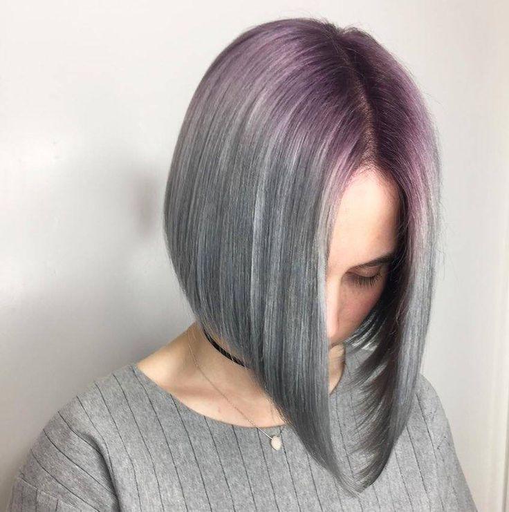 Purple schon immer eine Besondere Haarfarbe für Damen. Es gibt so viel Liebe für diesen femininen und sexy Farbe. Lila Nuancen sind ein tolles Acces…