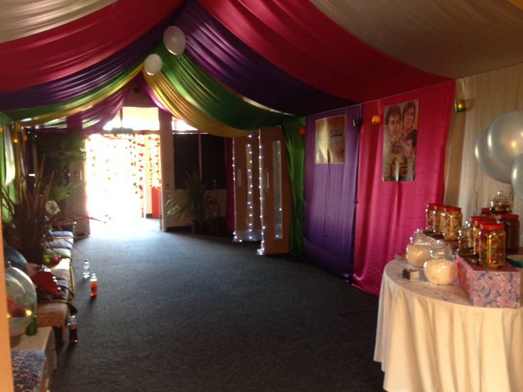 School Prom, Indian Summer theme, entrance hall