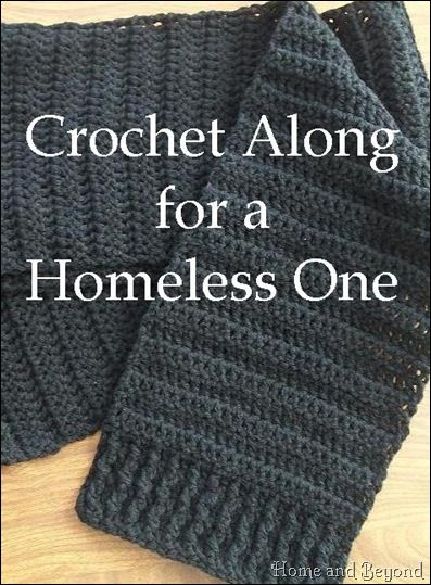 Crochet Along for a Homeless One - crochet for a cause