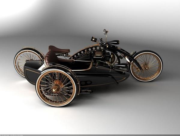 D'BOBBER KUSTOM KULTURE: Steampunk motorcycle