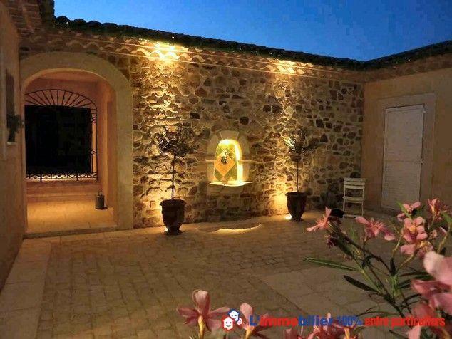 A 15 mn de p zenas et du lac du salagou propri t en pierres style mas avec patio central - Chambre d hote lac du salagou ...