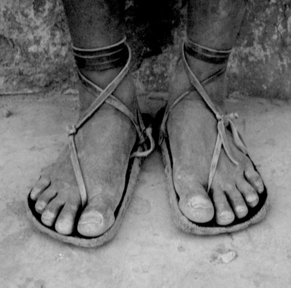 utilitarian. (tarahumara running shoes)
