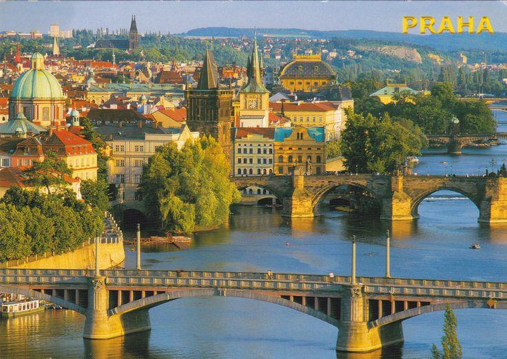Prague - Postcard