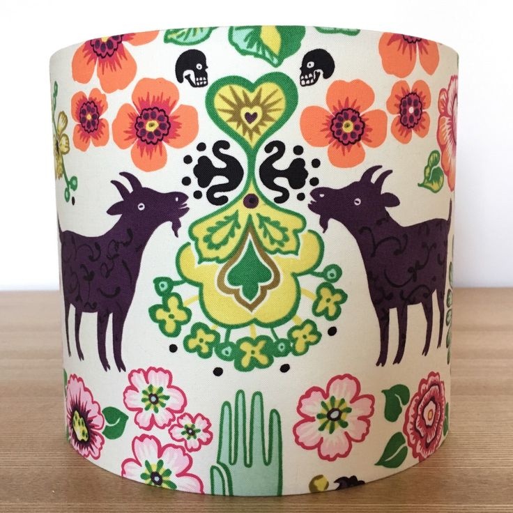 I just love Alexander Henry designs! This lampshade looks amazing