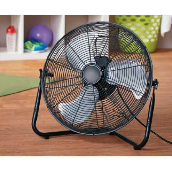 20 Room Cooling Home Floor Wall Mount Fan 3 Speed High Velocity 360 Rotation Dealstoday