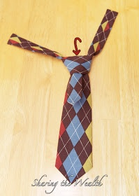 DIY boys tie. Pattern included  I have LOVED making my boys ties for this Easter!