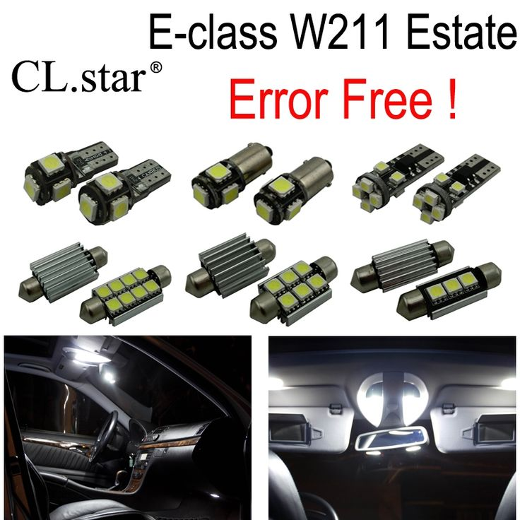47.99$  Watch now - 28pcs LED interior dome Light Kit For Mercedes E class S211 Estate Wagon E200 E220 E230 E240 E270 E280 E320 E350 E500 E63 AMG  #buychinaproducts