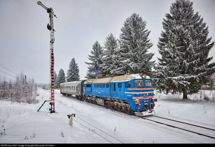 RailPictures.Net Photo: Russian Railways DM62 at Tver Region, Russia by Alexander Anichkin