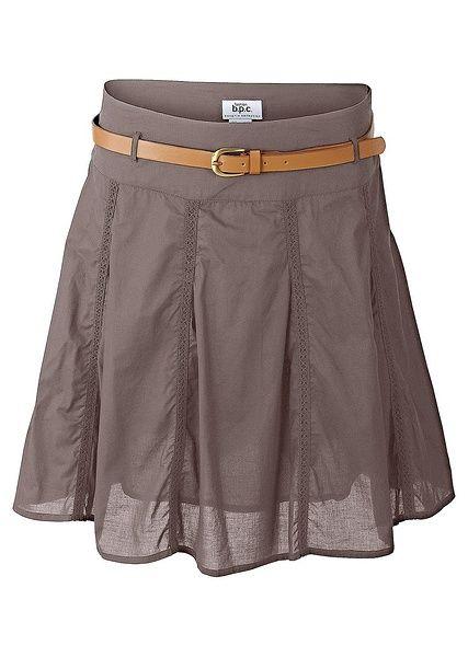Sukně s páskem Krátká sukně s módním • 629.0 Kč • bonprix