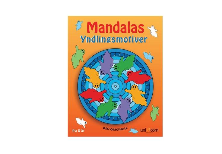 Mandalas Yndlingsmotiver, fra 8 år