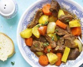 Râgout de boeuf aux 4 légumes minceur : http://www.fourchette-et-bikini.fr/recettes/recettes-minceur/ragout-de-boeuf-aux-4-legumes-minceur.html