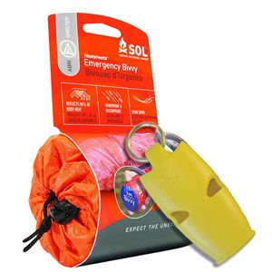 Emergency and safety equipment  Protect your loved ones as they are out on an adventure with a range of critical safety equipment designed specifically for walkers. The range includes first aid kits, emergency bivi bags and high-volume emergency whistles.  Emergency and safety equipment from £7.49