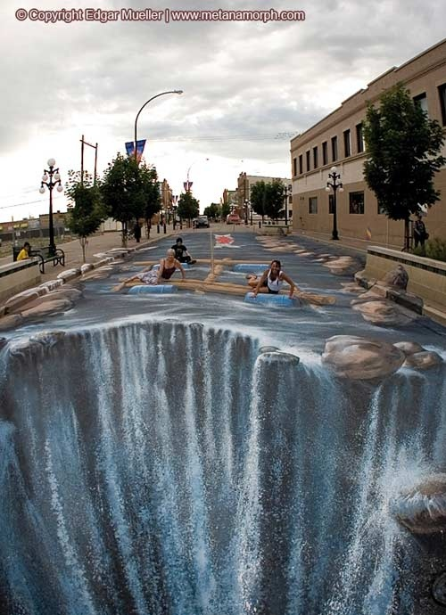 Edgar Mueler    Master of 3d-Street Painting - -- pinned using BrowserBliss