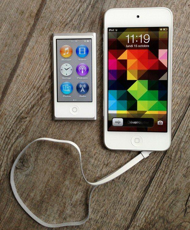 iPod nano et iPod touch