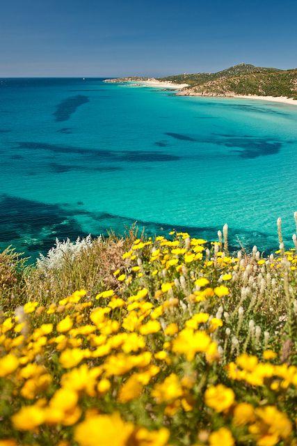 Baia Chia, Sardinia, Italy one summer :)