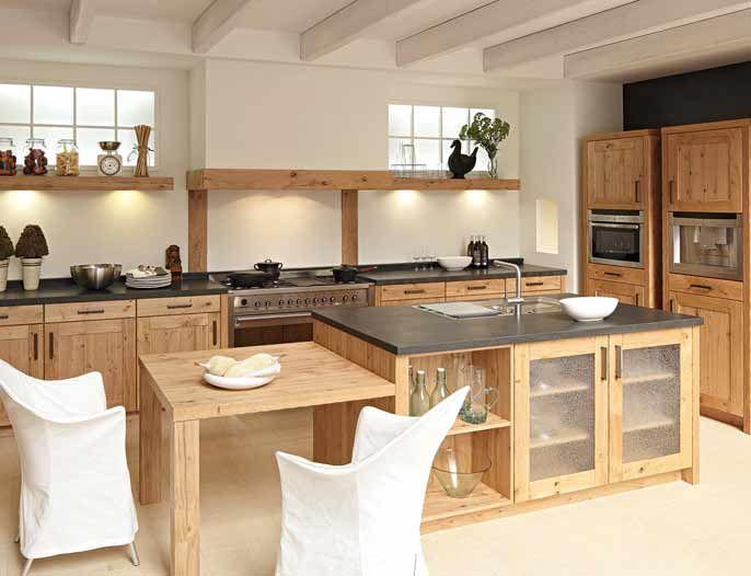 Landelijke keukens google zoeken inspiration kitchen pinterest - Verriere keuken ...
