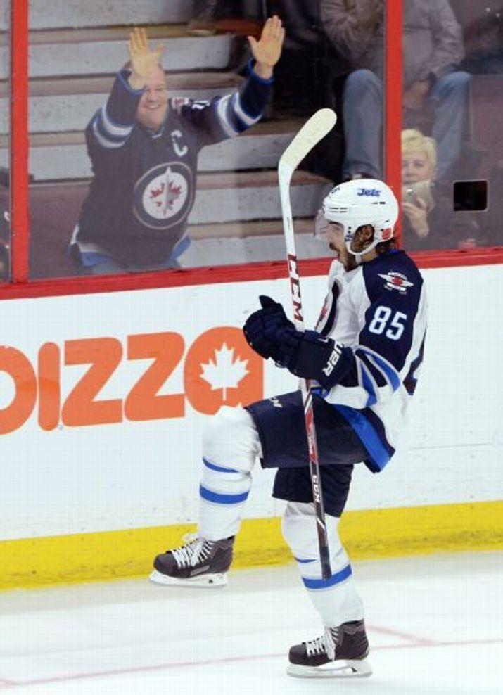 Mathieu Perreault, Winnipeg Jets