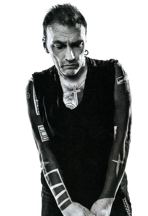 Daniel Darc, Yann Black tattoo. Hommage à Darc par Proyas www.proyas-music.com