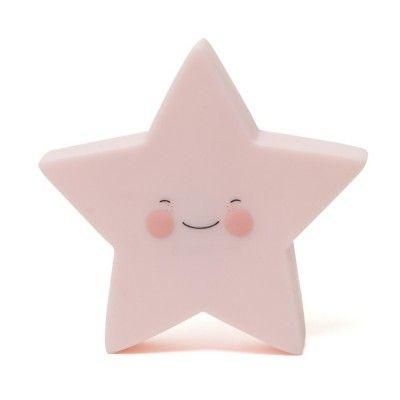 Veilleuse étoile rose