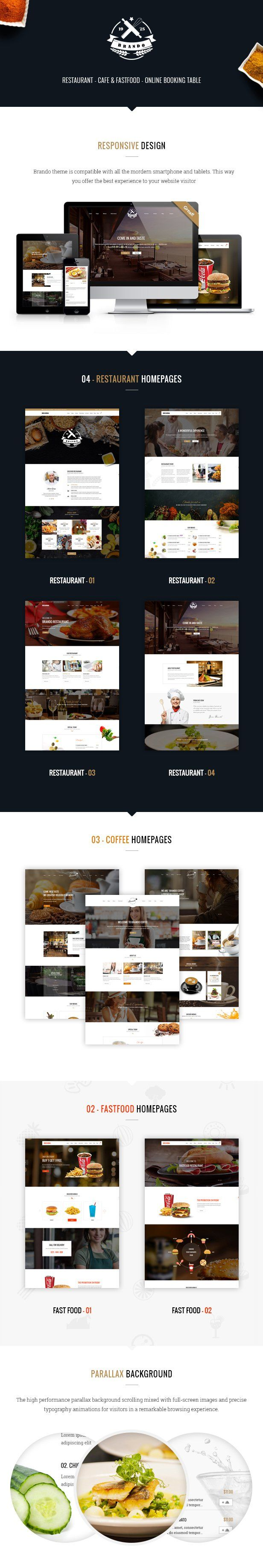 Brando Restaurant & Cafe Online Booking Table - Download theme here : http://themeforest.net/item/brando-restaurant-cafe-online-booking-table/15595217?ref=pxcr