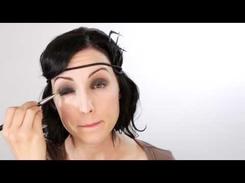 1920's style make up  BlushBeautyTutor.com    In this tutorial, Danica takes you step by step to create a 1920's inspired look.