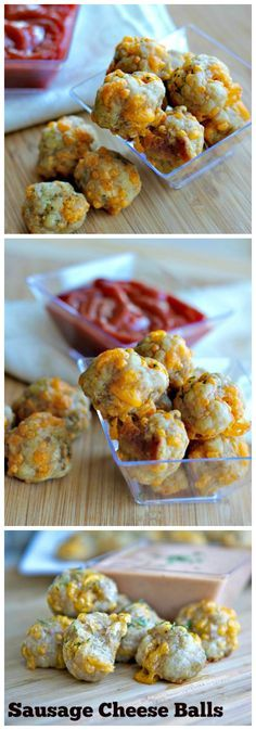 Easy Sausage Cheese Balls Recipe (Without Bisquick)