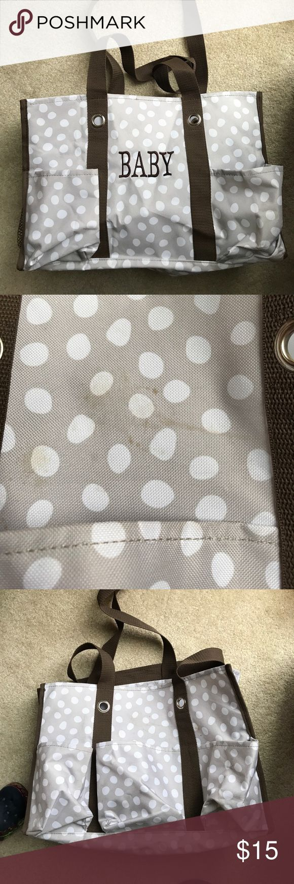 Thirty one baby 👶🏻 diaper bag EUC - shape is good. Has mark on outside and a few inside . Didn't try cleaning it. Priced accordingly Bags Baby Bags