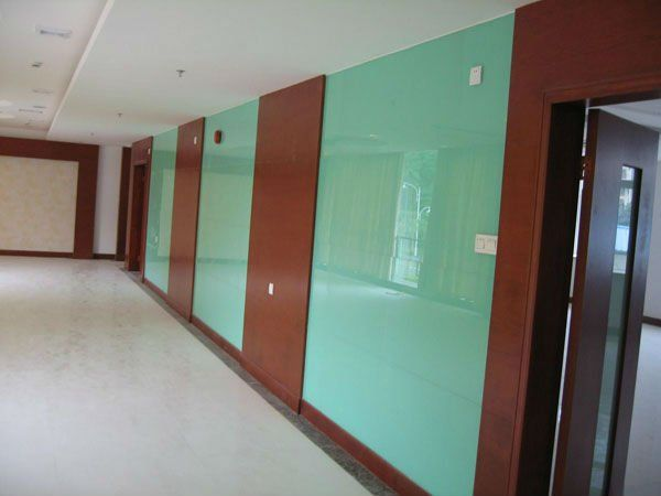 One of the best parts about back colored glass panels for Back painted glass design