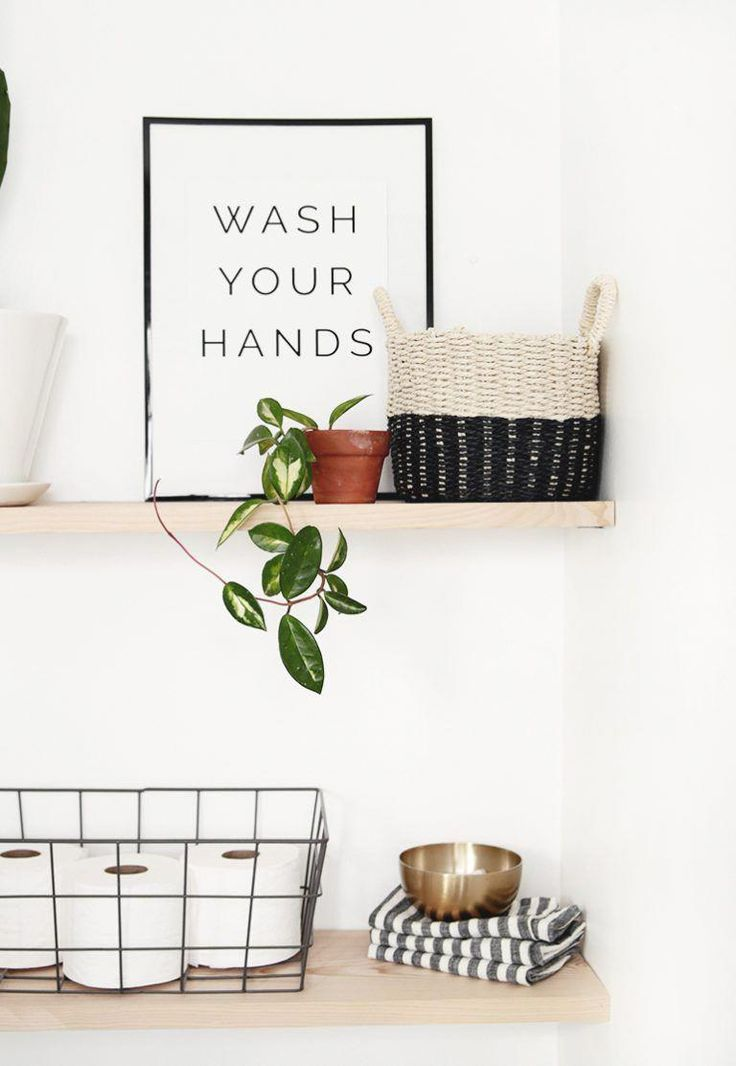 DIY Bathroom Shelves The Merrythought #diy #bathroom #bohobathroom   – boho bathroom