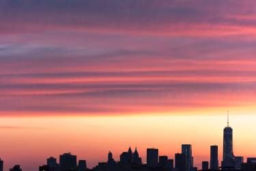 "Saatchi Art Artist Can Tolga Yılmaz; Photography, ""Sunset over Manhattan"" #art"