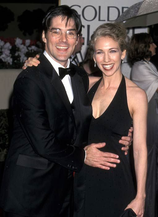 Thomas Gibson and his former wife Christine Gibson...