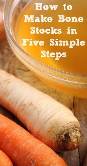 How to Make Bone Broths in Five Simple Steps | www.fearlesseating.net