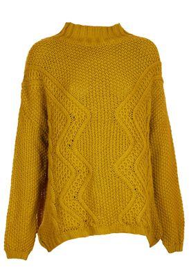 Pulover Pimkie Xerre Dark Yellow | Kurtmann.ro