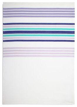 Lavender Hem-stripe Towel - contemporary - dishtowels - Sur La Table