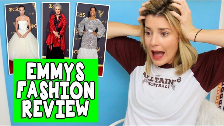 EMMY FASHION REVIEW // Grace Helbig - https://www.fashionhowtip.com/post/emmy-fashion-review-grace-helbig/