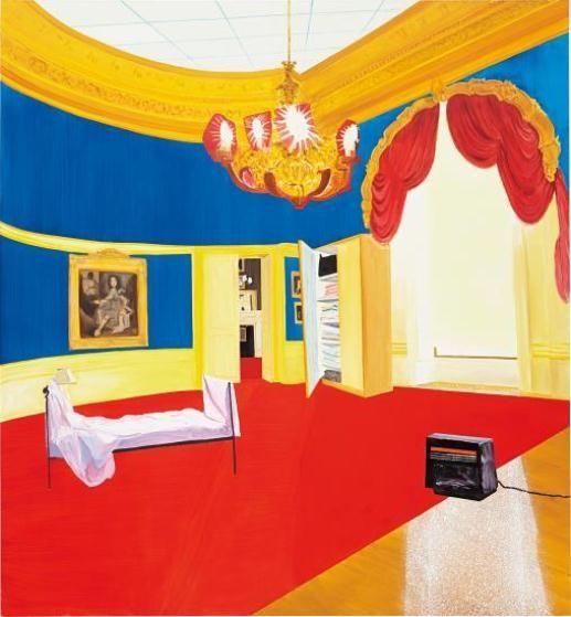 Dexter Dalwood, The Queen's Bedroom