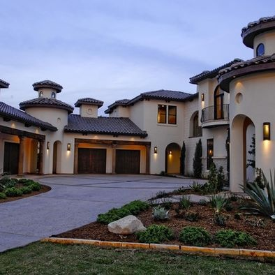 1000 images about stucco homes on pinterest stucco for Mediterranean stone houses