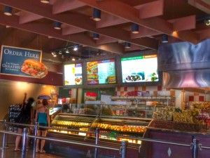 Earl of Sandwich, Downtown Disney Marketplace. One of our faves!