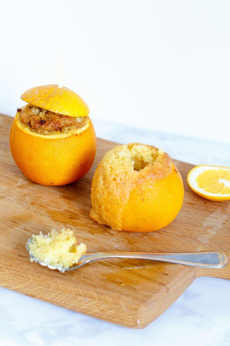 BBQ toetje   Sinaasappelcakejes - Zoetrecepten