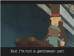 Saddest part in the Professor Layton series. Well, the second saddest. >.< Don't cry!