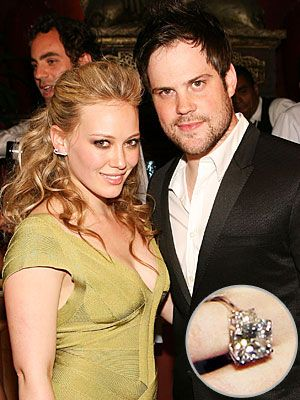 Mike Comrie And Hilary Duff Nhl Hockey Player Proposed To With A