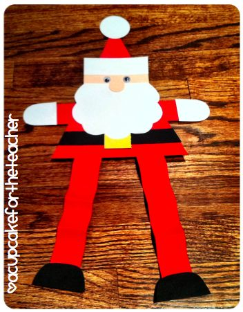 Triangle Santa Craft
