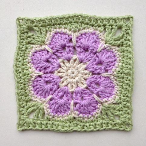 Really want to learn how to make beautifully knitted crafts.  I love the purple and green together . . . my favorite colors.