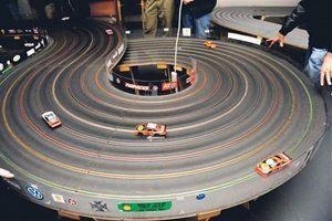 Slot car track sets
