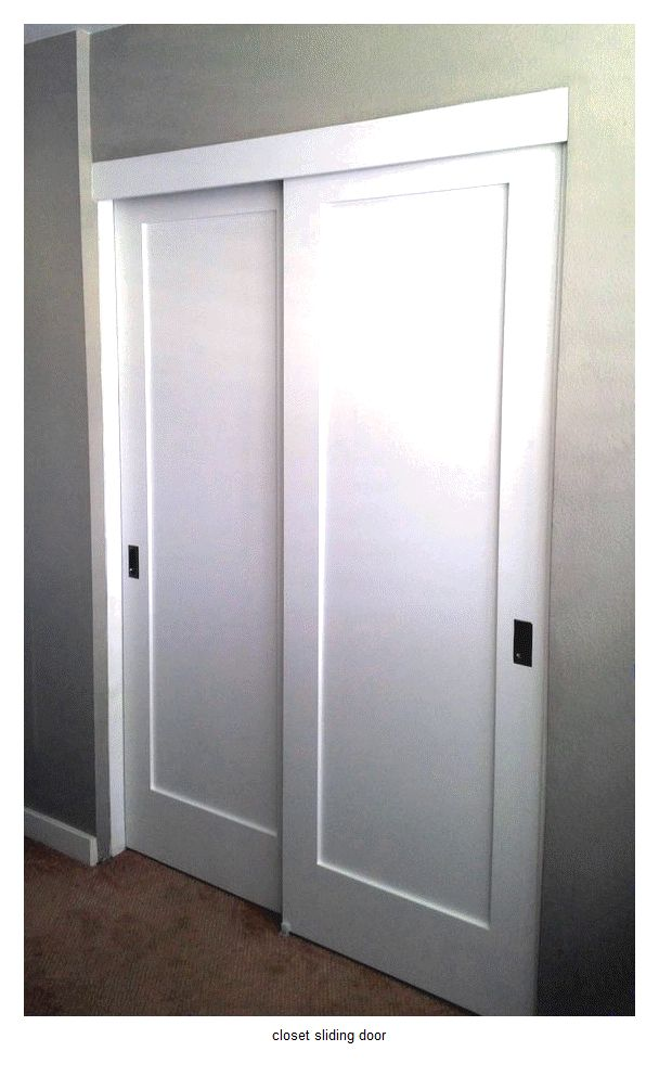 25 Best Ideas About Sliding Closet Doors On Pinterest